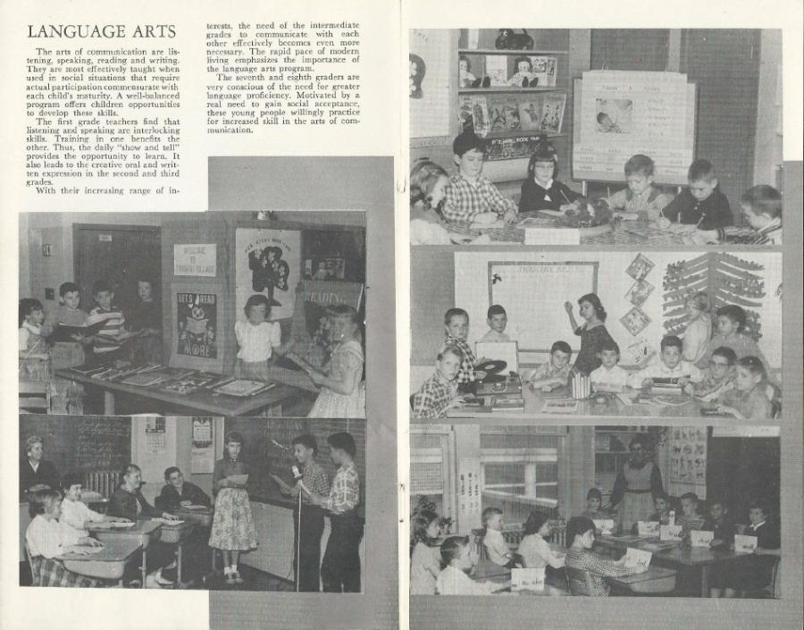 Garden Home School 57-58 Yearbook - page 3
