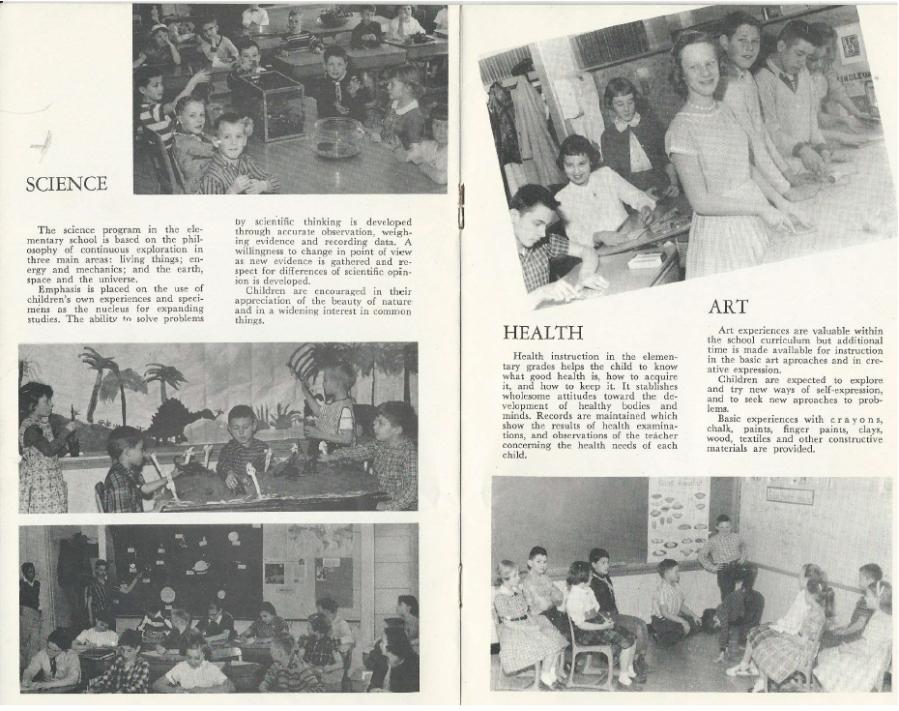 Garden Home School 57-58 Yearbook - page 6