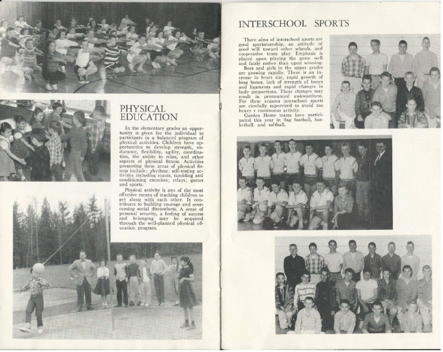 Garden Home School 57-58 Yearbook - page 8