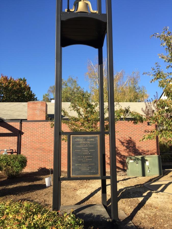 Garden Home School bell