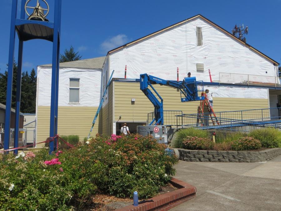 2013 Garden Home Recreation Center - new paint