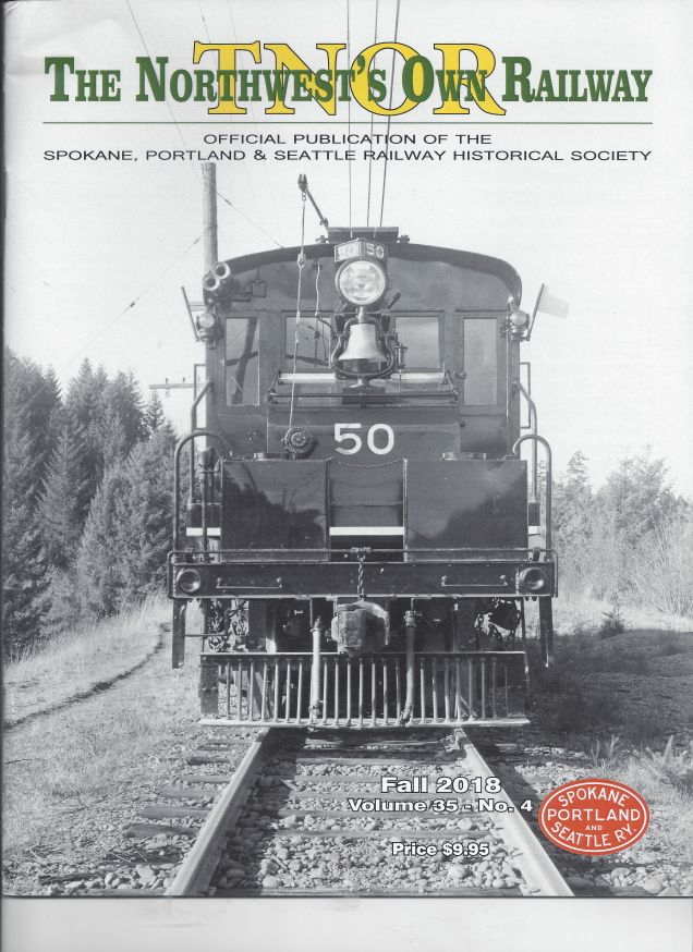 Early numbered locomotive, article on log freight through Garden Home