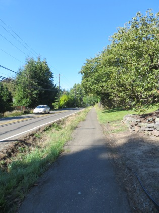 Garden Home Road safety path - near SW 77th