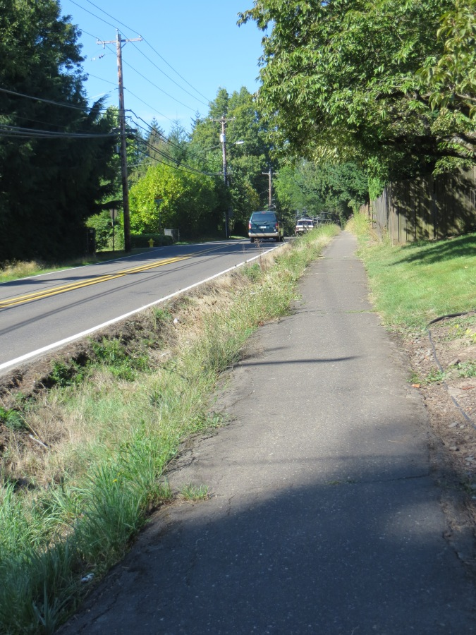 Garden Home Road safety path - near SW 78th Ave