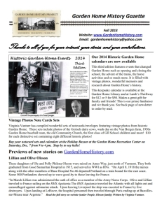 2013 Fall Newsletter