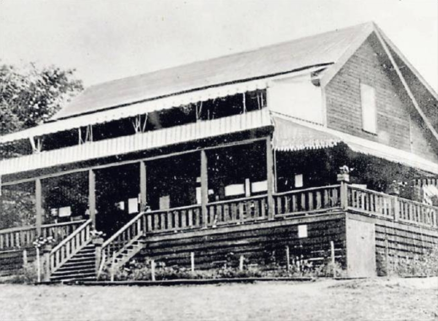 Portland Golf Club - original club house