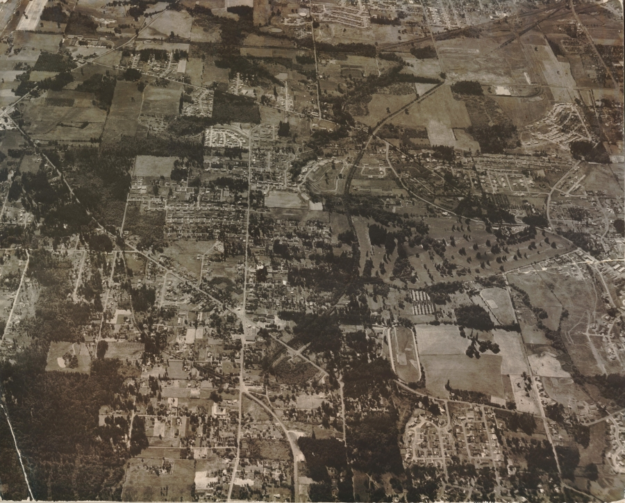 1958 Garden Home aerial photo (from Jackie Wisher) - Original