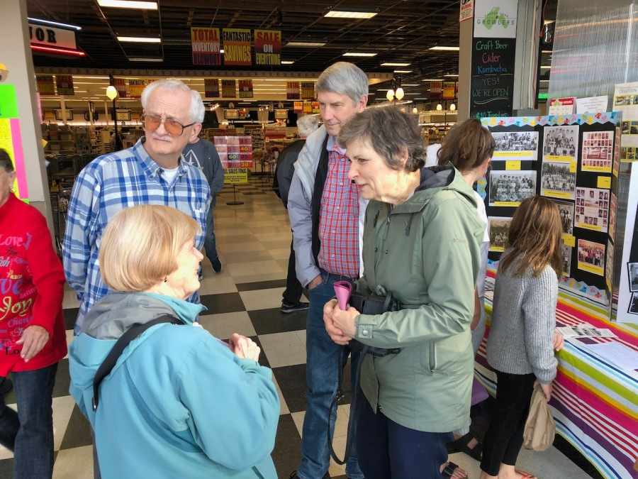 John and Marie Pacella, Bob and Sharon Cram, Lamb's Thriftway closing 2019