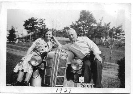 1937 Blosick family - Mr. and Mrs. Blosick (Antone and wife)