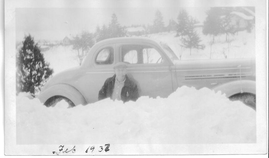 1937 Blosick family - Mr. L A Blosick
