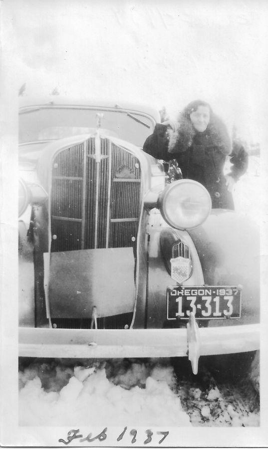 1937 Blosick family - Mrs. Blosick