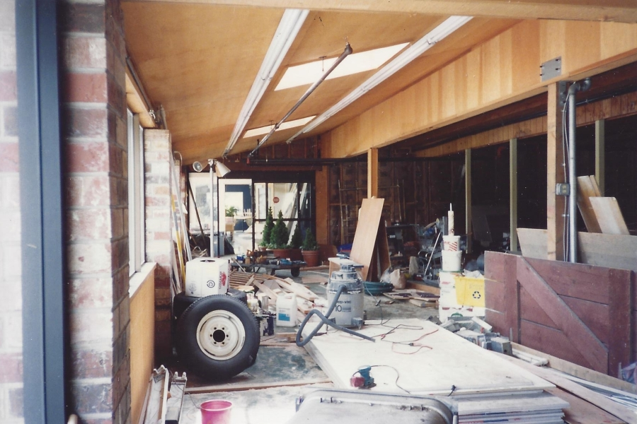 1994 Old Market Pub - carpentry to start Pub from Comellas, 1