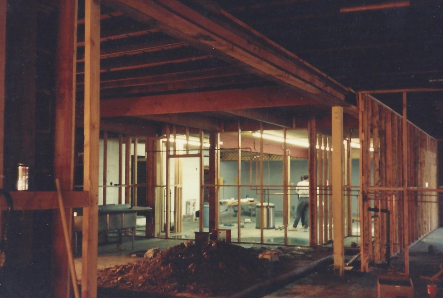 1994 Old Market Pub - carpentry to start Pub from Comellasl, 4
