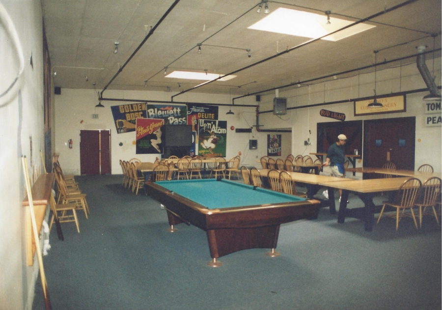1994 Old Market Pub - pool tables at Pub opening