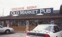 1994 Old Market Pub - Pub opens April 13, 1994, B