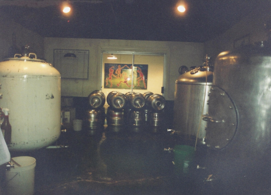 1994 Old Market Pub - Whitney's steam tanks, 1