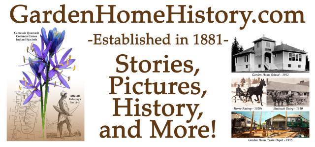 Garden Home History flag