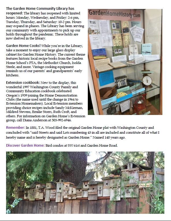 GHHP Gazette - August 2021 page 3